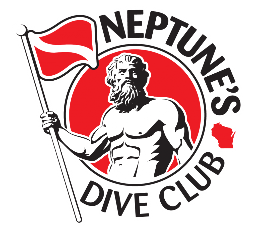 neptune's dive club logo