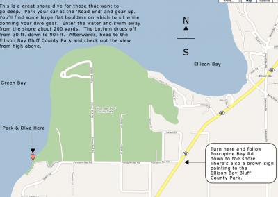 Porcupine Bay Rd., Ellison Bay, WI