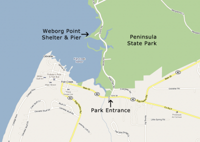 Weborg Point, Peninsula State Park, Fish Creek, WI